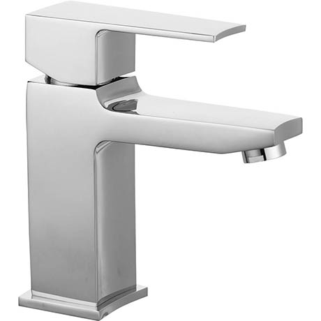 Hudson Reed Camber Mono Basin Mixer with Push Button Waste - CAM305