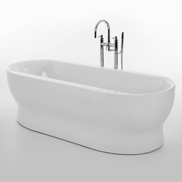 Royce Morgan Camber 1800 Luxury Freestanding Bath profile large image view 1