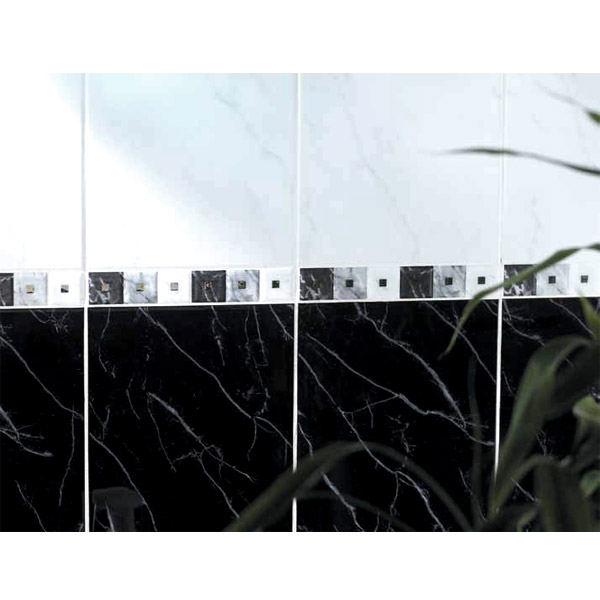 BCT Tiles - 12 Carrara Black Wall Gloss Tiles - 248x331mm - CAN33191 Profile Large Image