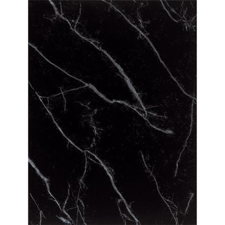 BCT Tiles - 12 Carrara Black Wall Gloss Tiles - 248x331mm - CAN33191
