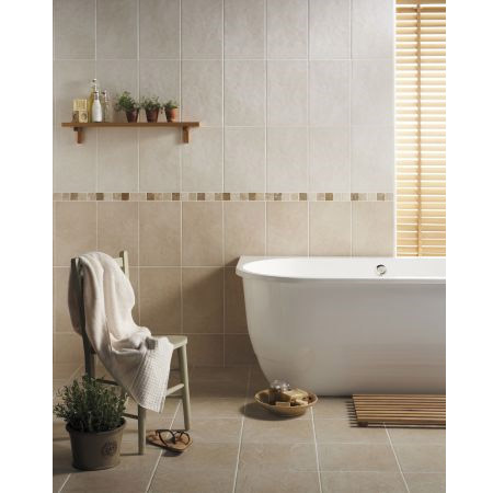 BCT Tiles - 10 Buxton White Wall Rustic Tiles - 248x398mm - CAN42933 Profile Large Image