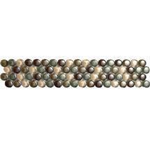BCT Tiles - 6 Dartmoor Naturals Beige Glass Dots Strips - 312x60mm - CAN43640 Medium Image