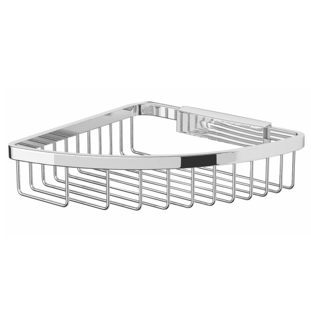 Bristan - Complementary Corner Wire Shower Basket - CAR-CWIRE-C Large Image