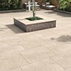 Carmona Beige Outdoor Stone Effect Floor Tile - 600 x 900mm profile small image view 1