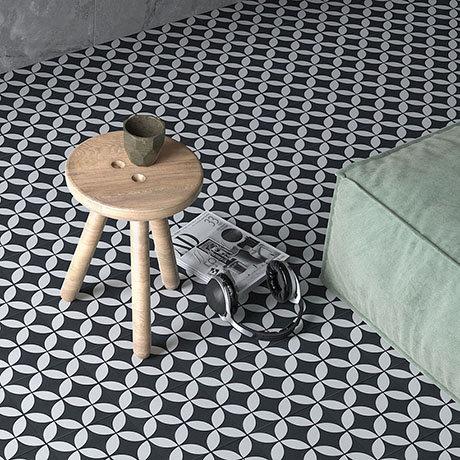 Caroline Geo Wall and Floor Tiles - 200 x 200mm