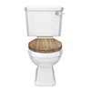 Carlton Traditional Toilet with Soft Close Seat - Various Colour Options profile small image view 1