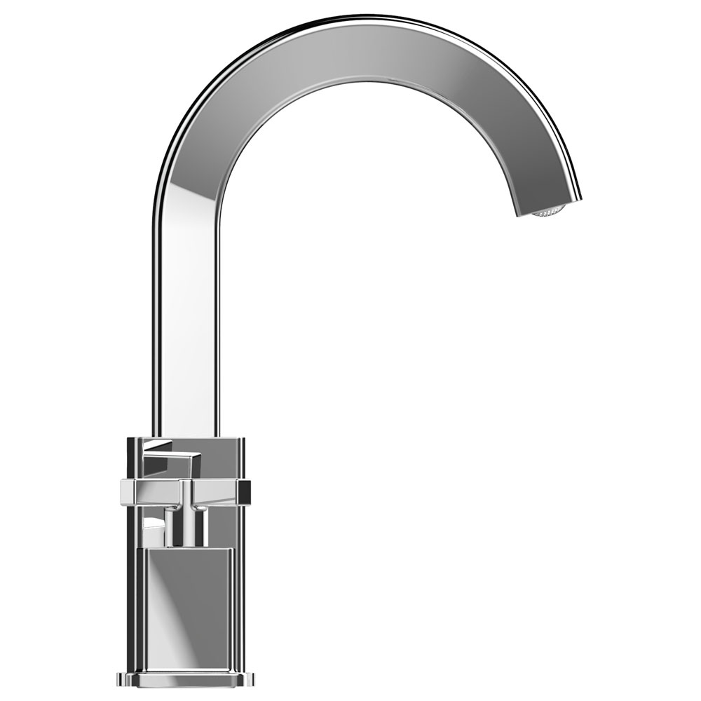 Bristan Cascade 3 Hole Basin Mixer with Clicker Waste Profile Large Image