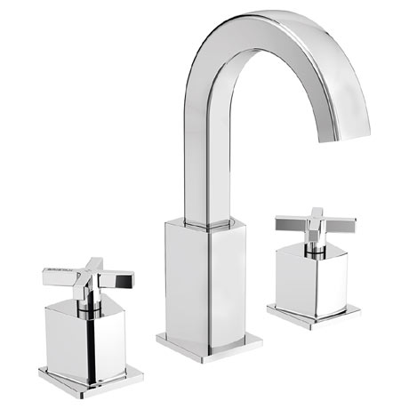Bristan Cascade 3 Hole Bath Filler