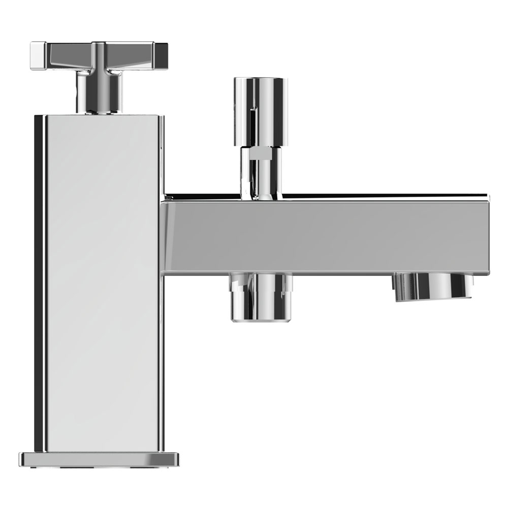 Bristan Cascade Bath Shower Mixer with Kit profile large image view 2