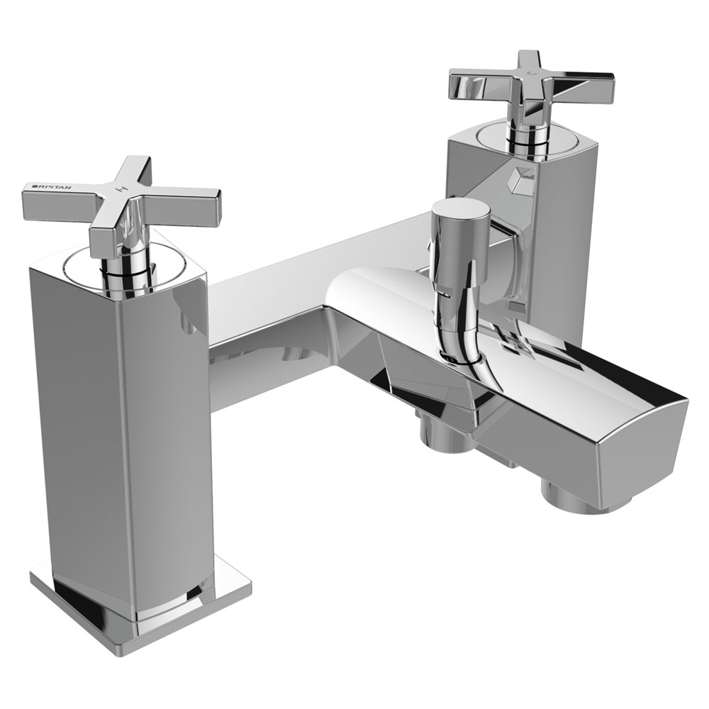 Bristan Cascade Bath Shower Mixer with Kit profile large image view 1