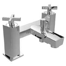 Bristan Cascade Bath Shower Mixer with Kit Medium Image