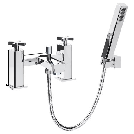 Bristan Cascade Bath Shower Mixer with Kit