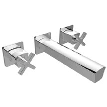 Bristan Cascade Wall Mounted Basin Mixer Medium Image