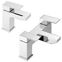 Cast Modern Tap Package (Bath + Basin Tap) Medium Image
