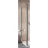 Crosswater Clear 6 Silver Side Panel profile small image view 1