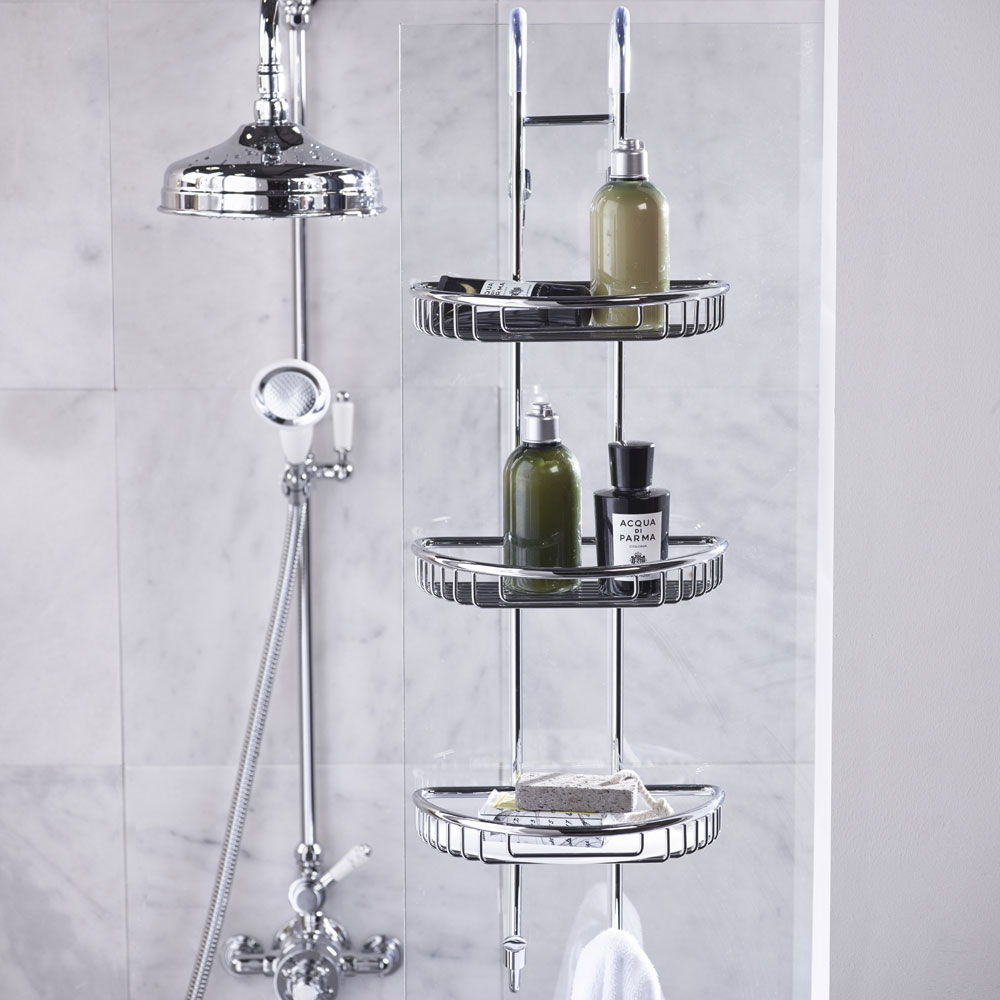 Roper Rhodes Sigma Three Shelf Shower Caddy - CB70.02 profile large image view 2