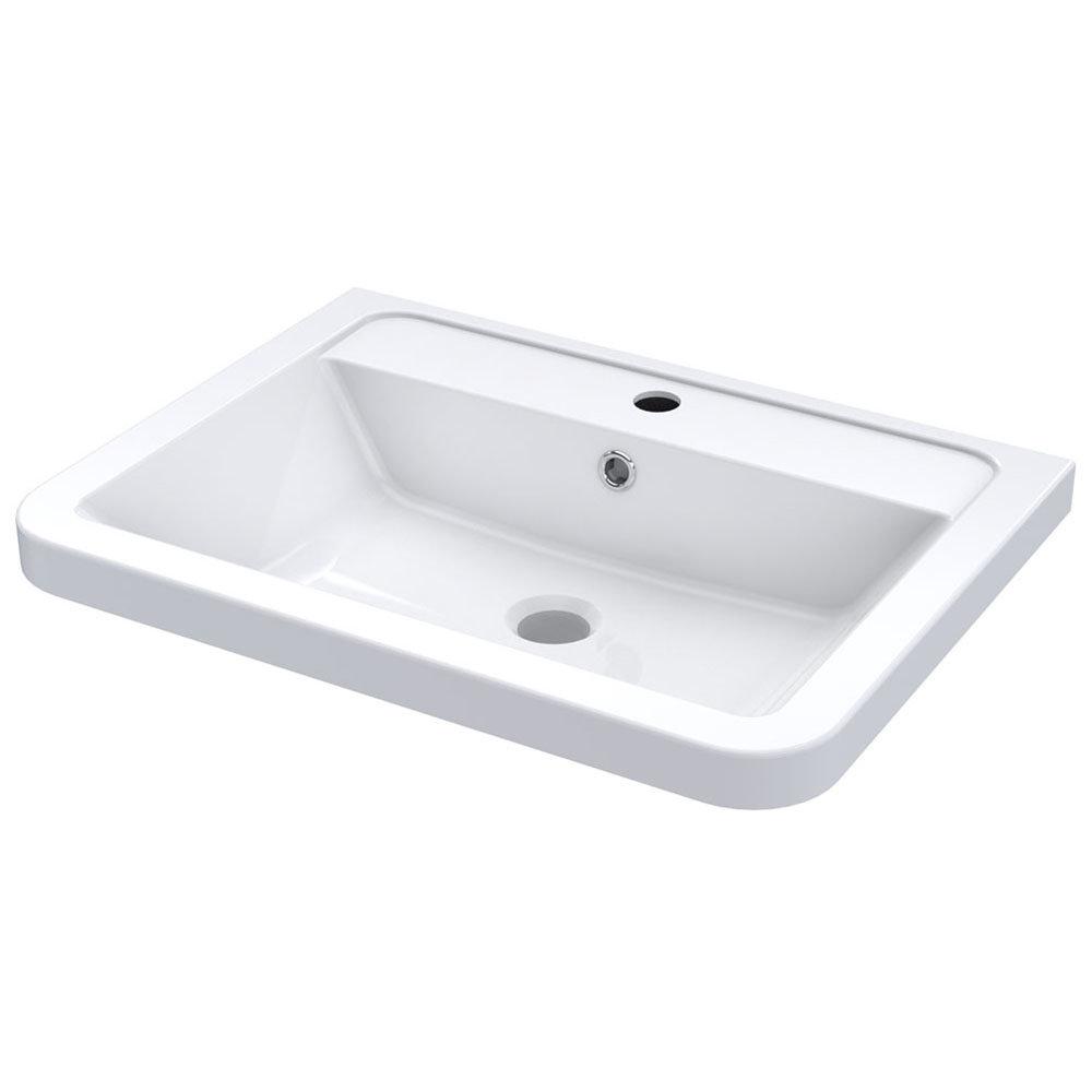 Nuie 600mm Ceramic Inset Basin Cbm003