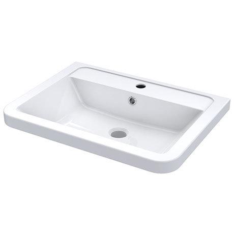Nuie 600mm Ceramic Inset Basin - CBM003