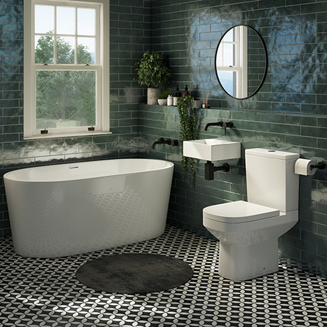 Cubetto Bathroom Suite