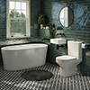 Cubetto Modern Bathroom Suite profile small image view 1