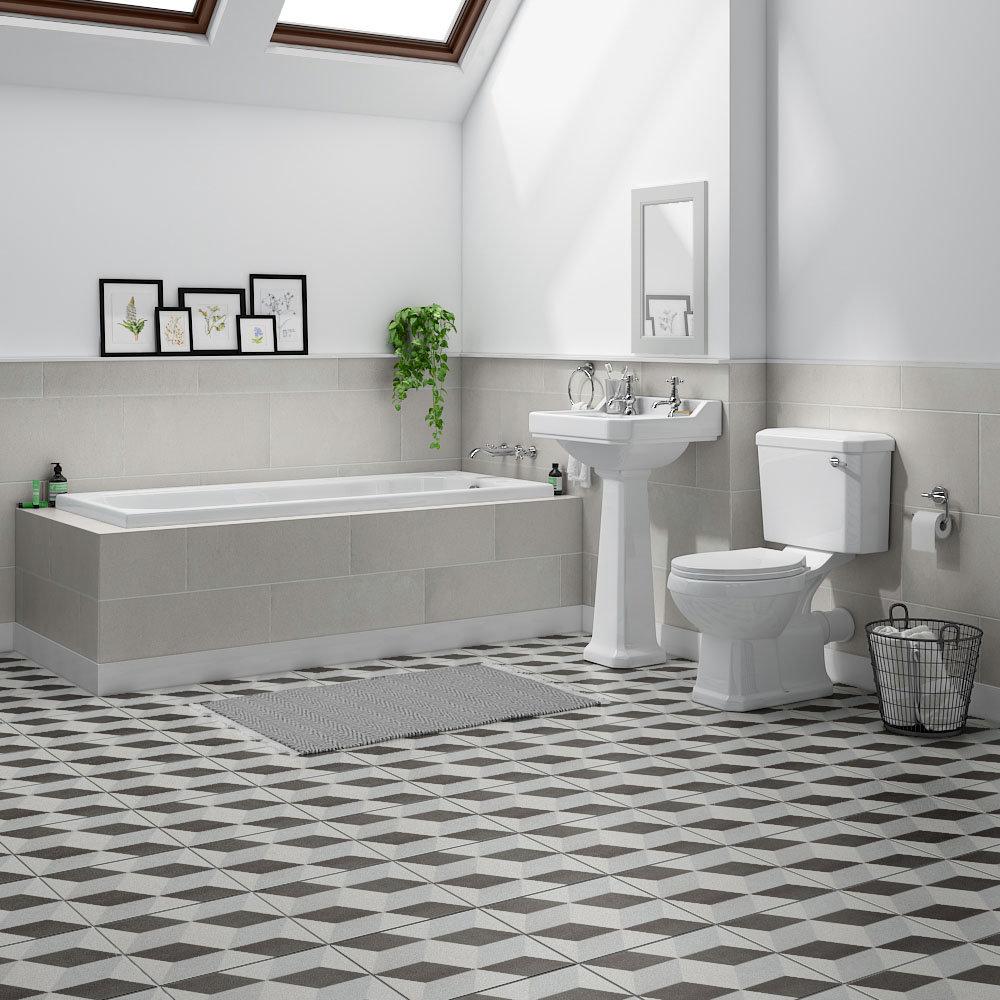 Carlton Traditional Bathroom Suite - CBS1700