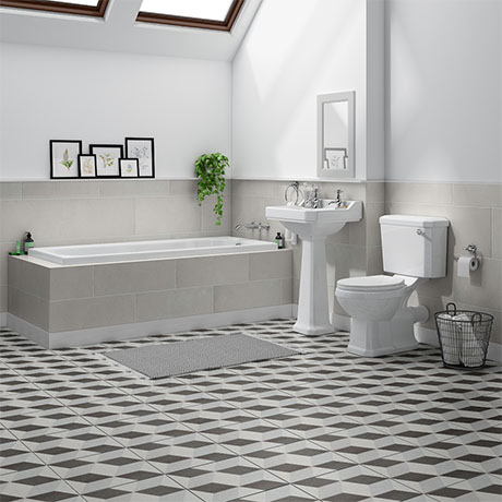 Carlton Traditional Bathroom Suite (1700 x 700mm)