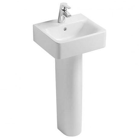 Ideal Standard Concept Cube 40cm 1TH Handrinse Basin & Pedestal
