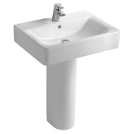 Ideal Standard Concept Cube 1TH Basin & Pedestal