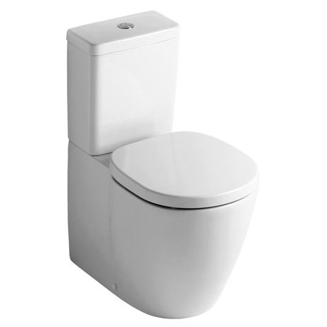 Ideal Standard Concept Cube Close Coupled Back to Wall Toilet