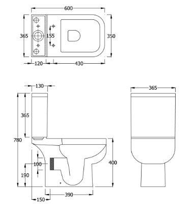 dimensions wc id es novatrices de la conception et du mobilier de maison. Black Bedroom Furniture Sets. Home Design Ideas