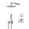 Cruze Shower Pack (Inc. 200mm Wall Mounted Head, Wall Outlet Elbow + Shower Handset) profile small image view 1