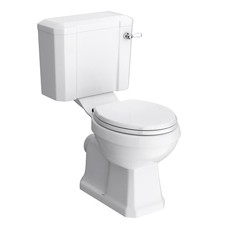 Chatsworth Close Coupled Traditional Toilet + Soft Close Seat