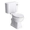 Chatsworth Close Coupled Traditional Toilet + Soft Close Seat Small Image