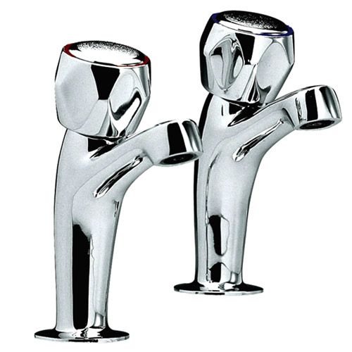 Ultra Contemporary High Neck Sink Taps - Chrome - CD310 Large Image