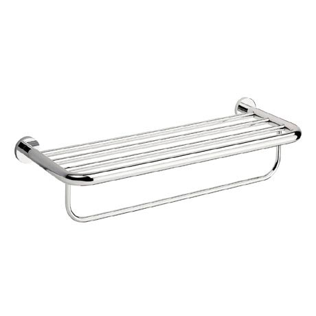 Crosswater - Central 580mm 2 Tier Chrome Towel Rail - CE026C