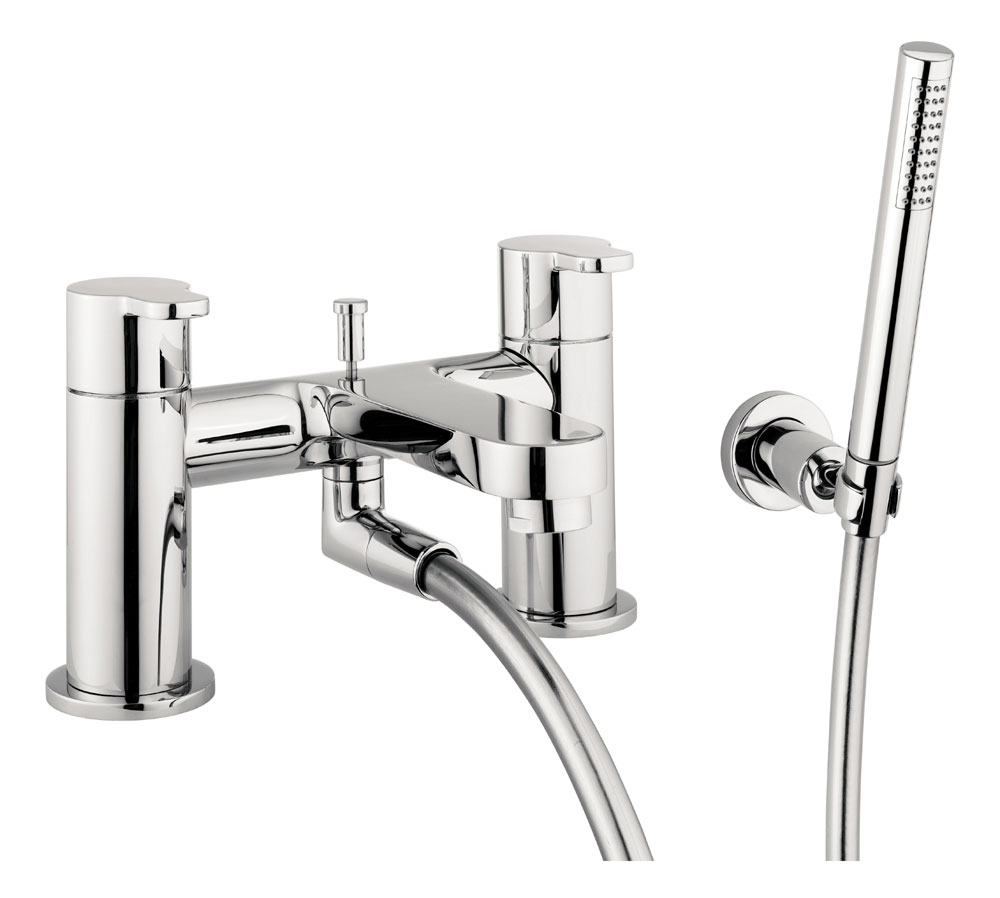 Crosswater - Central Bath Shower Mixer with Kit - CE422DC Large Image