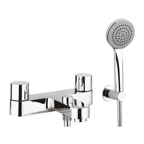 Crosswater - Central Bath Shower Mixer with Kit - CE422DC