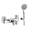 Crosswater - Central Bath Shower Mixer with Kit - CE422DC Medium Image