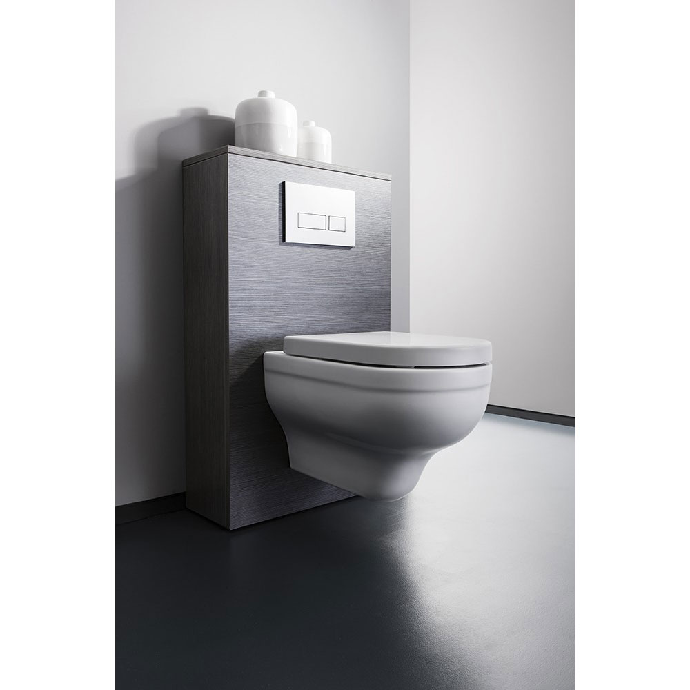 Bauhaus - Central Wall Hung Pan with Soft Close Seat Standard Large Image
