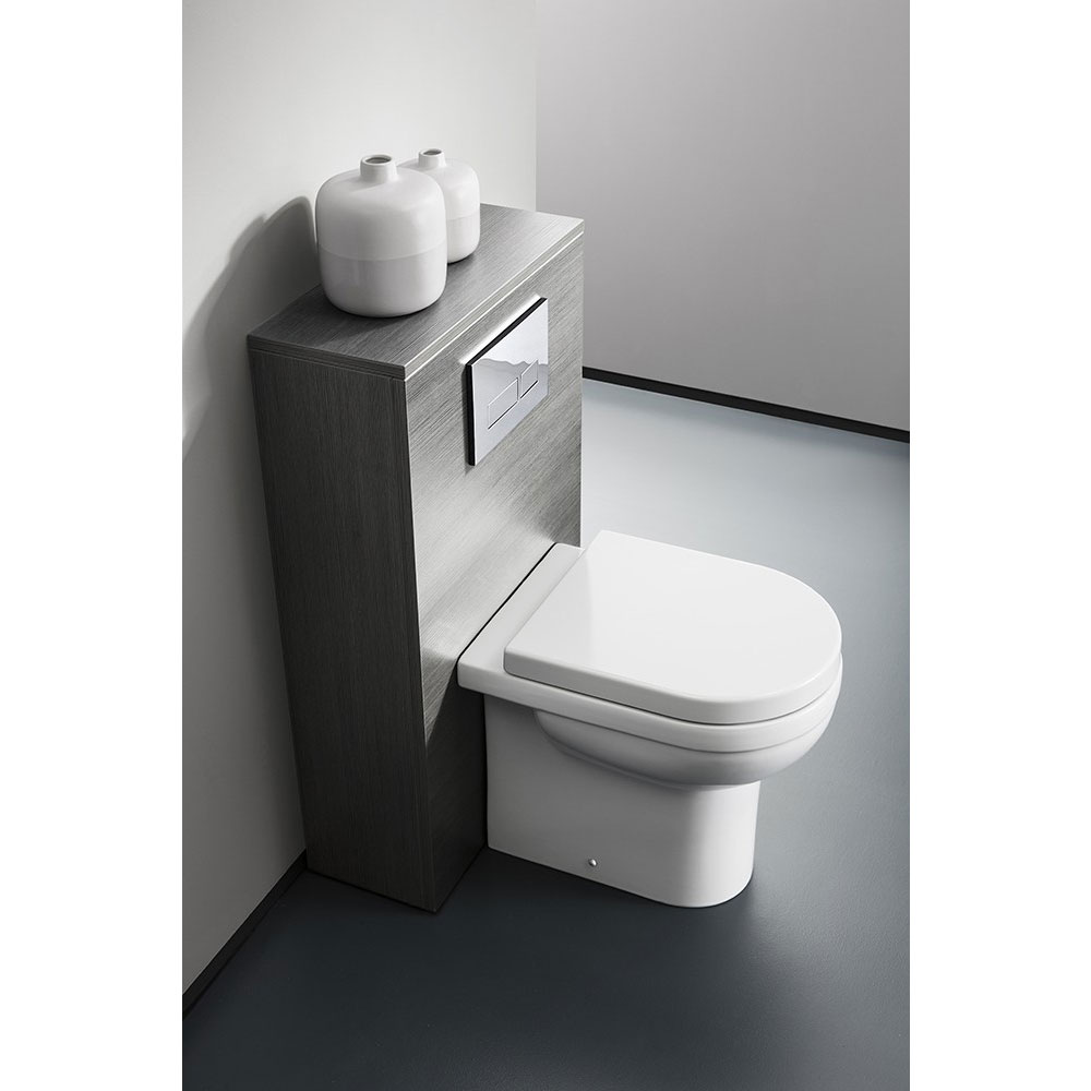 Bauhaus - Central Back to Wall Pan with Soft Close Seat Feature Large Image