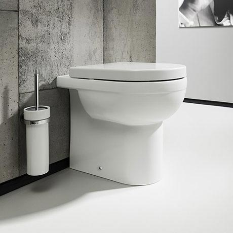 Bauhaus - Central Back to Wall Pan with Soft Close Seat