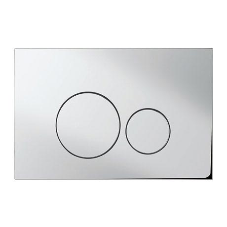 Bauhaus - Central Dual Flush Plate - Various Colour Options