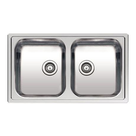 Reginox Centurio L20 2.0 Bowl Stainless Steel Integrated Kitchen Sink