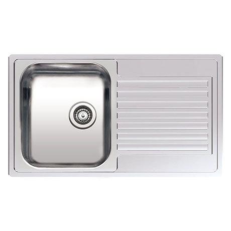 Reginox Centurio R10 1.0 Bowl Stainless Steel Inset Kitchen Sink