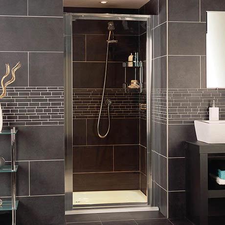 Roman Collage Pivot Shower Door