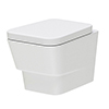 Hudson Reed Farnham Wall Hung Pan with Soft Close Seat - CFA004 profile small image view 1