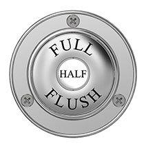Chatsworth Traditional Dual Flush Button Medium Image
