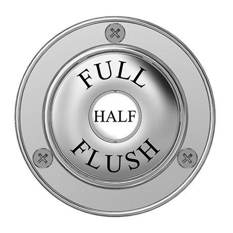 Chatsworth Traditional Dual Flush Button