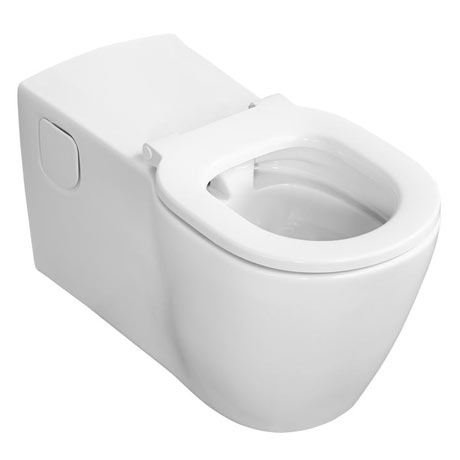 Ideal Standard Concept Freedom Elongated Wall Hung WC + Seat Ring Only