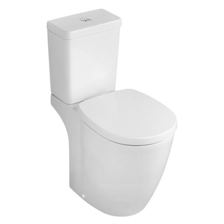 Ideal Standard Concept Freedom Raised Height Close Coupled Toilet